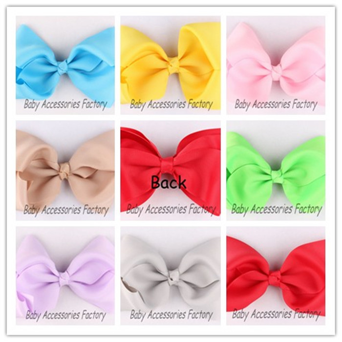 (50pcs/lot)Fabric Bow Flowers Artificial Ribbon Hair Bow Flower Accessories Butterfly Bow Flower For Baby Christmas Headwear(China (Mainland))