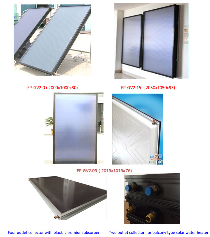 flat plate solar thermal collectors(China (Mainland))
