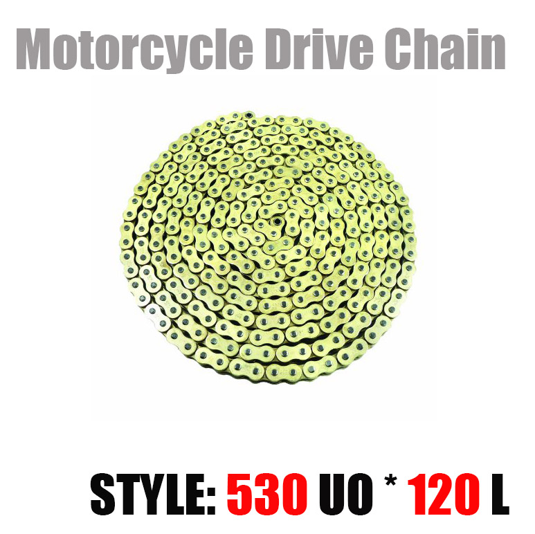 530 * 120 Motorcycle Drive Chain Universal parts 530 Pitch Heavy Duty O-Ring Chain 120 Links for Honda Yamaha Suzuki Kawasaki<br><br>Aliexpress