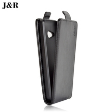 JR Brand High Quality PU Leather Cover Skin For Microsoft Nokia Lumia 550 Case Pouch Flip Vertical Magnetic Phone Bag 9 colors(China (Mainland))