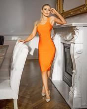 Oloey Горячая 2019 Новая мода гламур оранжевый Сексуальная спинки Спагетти бретели для нижнего белья оптовая продажа вечерние для женщи(China)