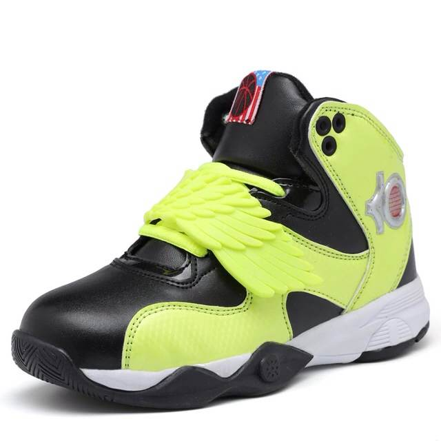 Kids Sneakers Shoes Children size 31-39 Big Kids Sneakers kd shoes for Boys Light Kevin Durant High Top Boys Sneakers Shoes(China (Mainland))