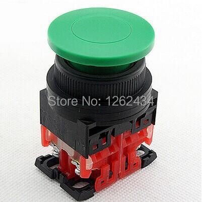 Mushroom head button AR30MOR-11 Button switch automatic reset  (1NO 1NC)Mounting aperture:30mm<br><br>Aliexpress