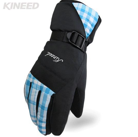 HFF-08 Ski gloves Waterproof Women Ski Snowboard Thermal Warm Guantes Ski gloves skiing gloves snowboard motorcycle gloves(China (Mainland))