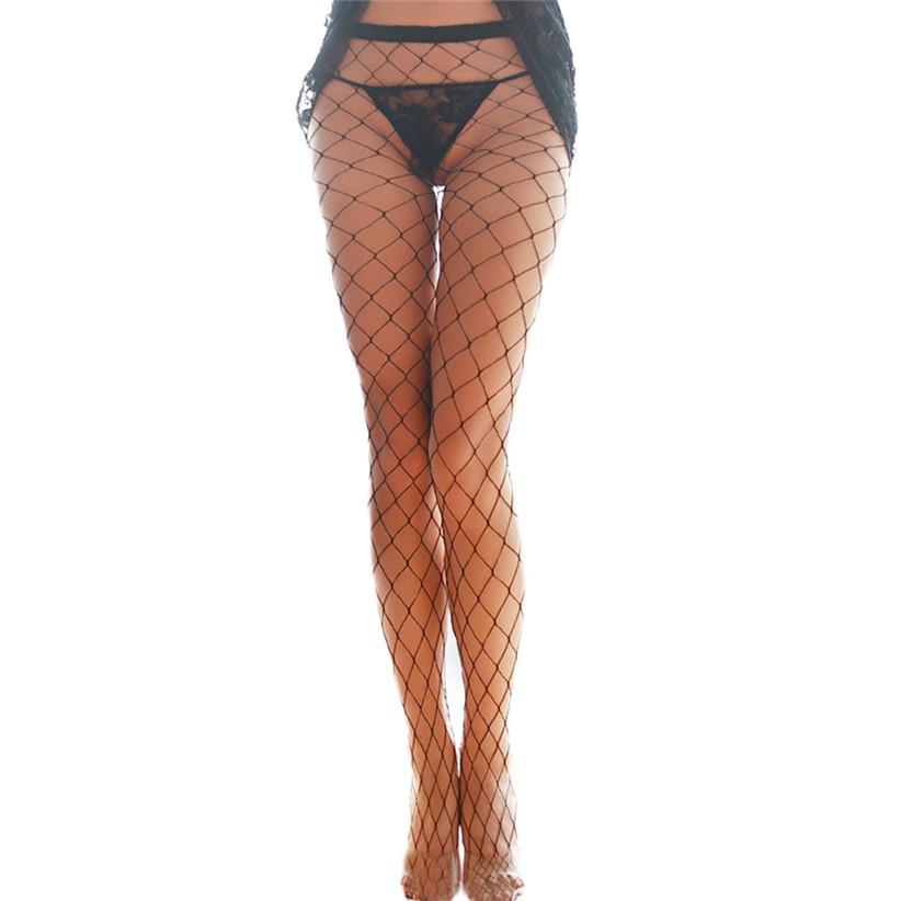 Недавно дизайн женщины сексуальный черный сетчатая ткань ажурные чулки колготки june25 zq