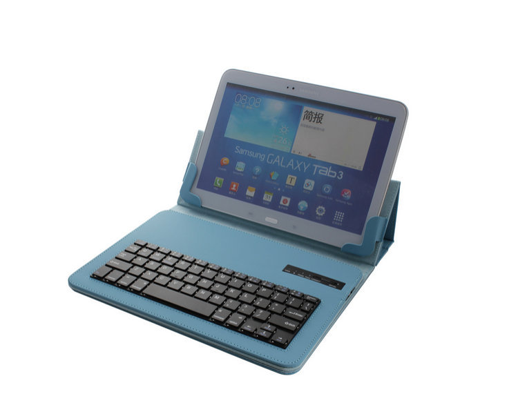 "Wireless Bluetooth Keyboard Universal 9""-10.1"" Tablet PC Case for iOS Android Windows Operation System hot sale free shipping(China (Mainland))"