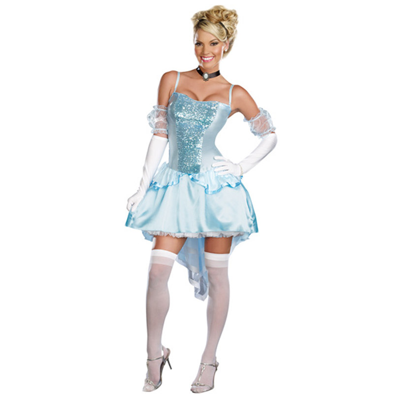 cosplay Halloween Masquerade Costume Adult Snow White Queen costumes(China (Mainland))