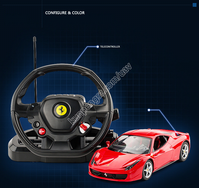 1/14 Drift RC Car Remote Controll Car Children Remote Control Car Model Electric RC Car Toy Free Shipping KP050(China (Mainland))