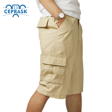 2016 Summer Brand Mens Military Cargo Shorts Men Loose Work Casual Sport Gym Short Pants Plus Size multi-pocket bermuda homme