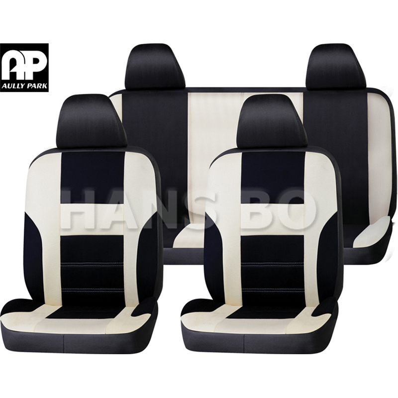 New Hot Sale Polyester Fabric Universal Car Seat Cover Fit