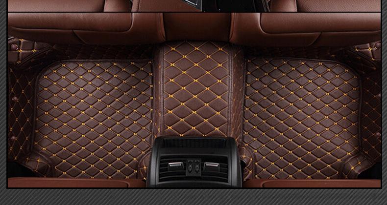 car floor mat  for Hyundai Elantra Azera Mistra Coupe LAVIDA IX25 IX35 Genesis Santa Fe Sonata Tuscon Mistra car styling carpet