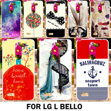Buy New Luxury Colorful Beautiful Painting Hard Plastic Cases LG L Bello D335 D331 L Prime D337 Back protection Case Cover Shell for $1.68 in AliExpress store