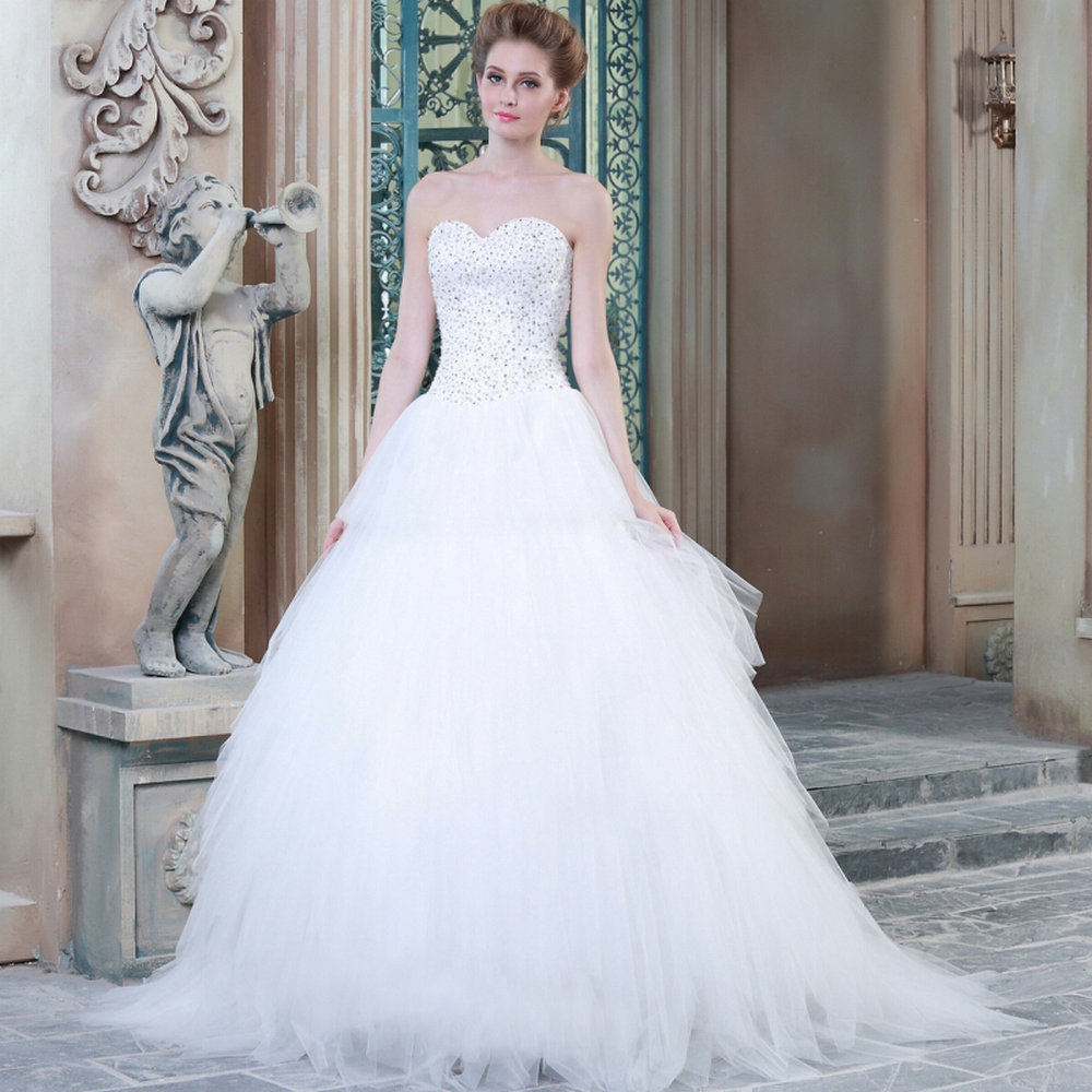 Wedding Dresses  Made In : Trumpet wedding dress mrw best quality dresses made in china