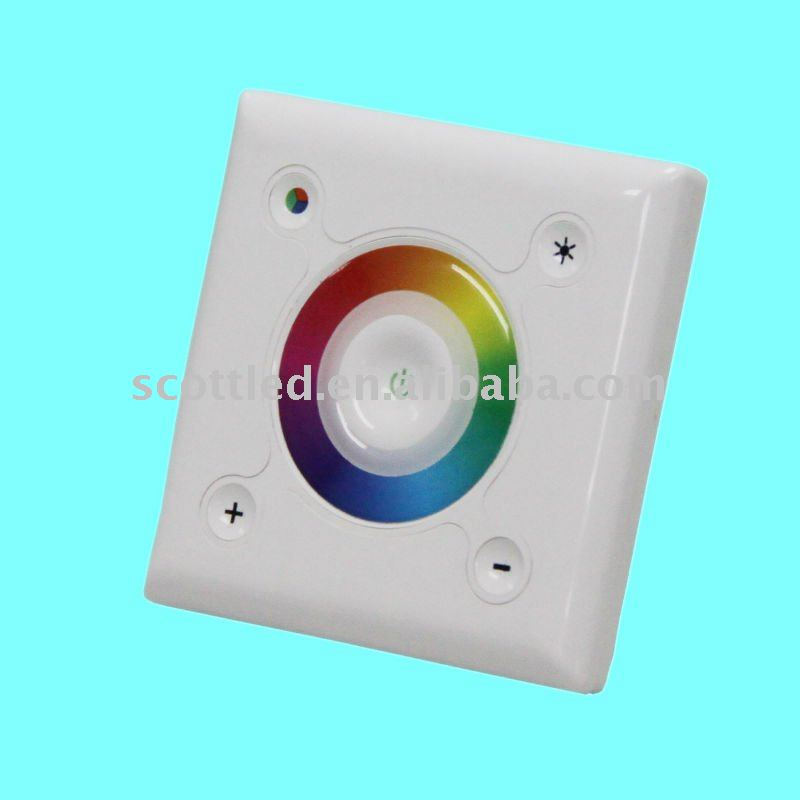 Square Touch Interface RGB LED Controller(China (Mainland))