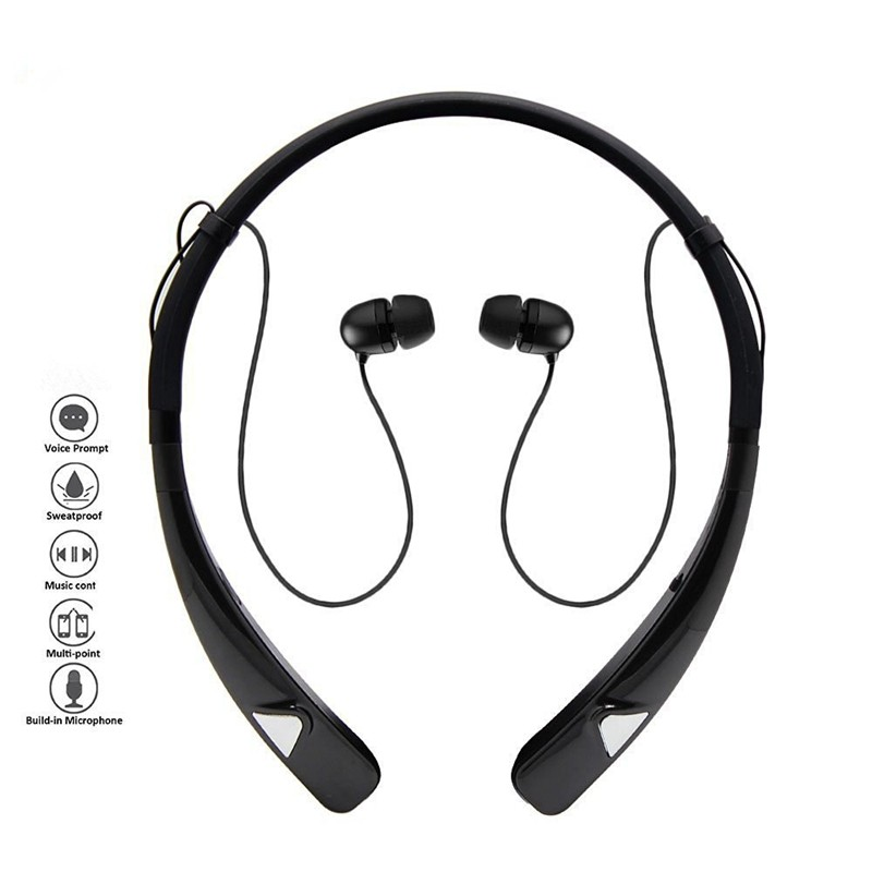 HV-980 Wireless Stereo Bluetooth 4.1 In-ear Headsets Earbuds fone de ouvido auriculares for iphone Samsung Sony Phone