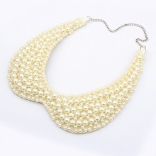 Min order is 10usd (mix order) C219  Noble Cute Sexy pearl collar choker necklace wholesale!! Free shipping —Swantones SW