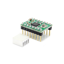 5pcs/lot 3D printer Reprap Stepper Driver A4988 stepper motor driver + heat sink heatsink with sticker free shipping