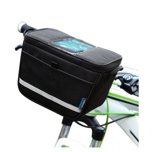 2014 new Outdoor Sport Fashion Bike Bicycle Navigation Handlebar Bag Touch Case For Less 4.8-inch Phone(China (Mainland))