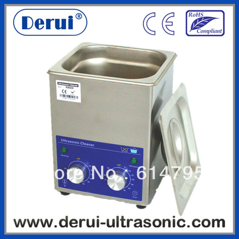 Derui ultrasonic tank cleaning with timer and heated DR-MH13 1.3L(China (Mainland))