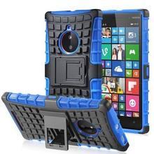Hybrid Kickstand Armor Case For Nokia Lumia 820 Lumia 830 Lumia 930 Case Dual Layer Silicone+Hard Shell Cover Cases(China (Mainland))