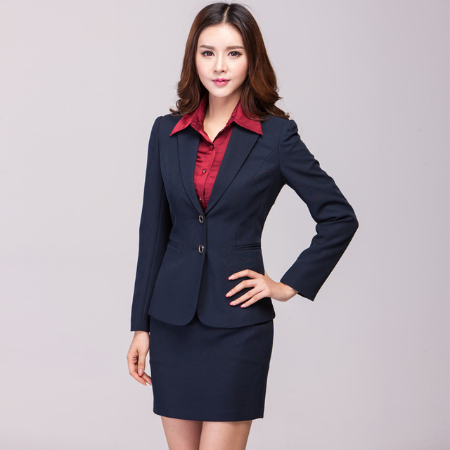Innovative 2015 New Business Suit For Women Skirt - Buy Business Suit For Women SkirtSkirt Suit For ...