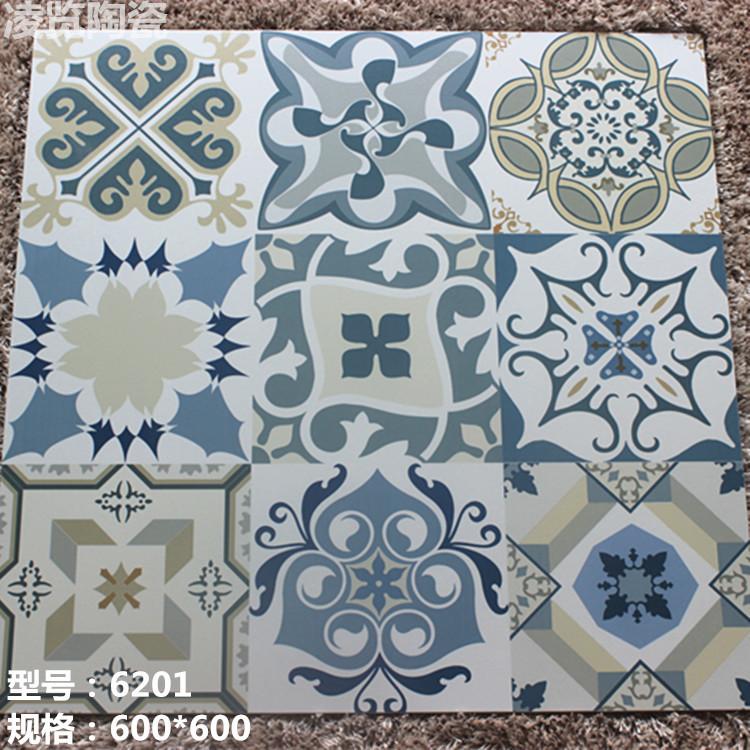 600X600 antique tile art parquet floor indoor antifouling slip paving brick factory outlets LL(China (Mainland))