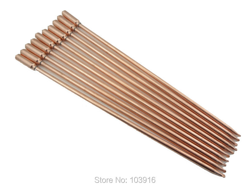 10 pcs/lot of 40cm copper heat pipe, for solar water heater, solar hot water heating, split pressurized solar water heater(China (Mainland))