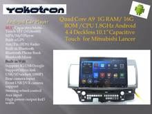 """YOKOTRON"" 10.1"" Touch Android 4.4 Car Radio Autoradio for Mitsubishi Lancer Audio 2008 2009 2010 2011 2012 2013 2014 2015+GPS(China (Mainland))"