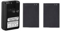 2 x 1500 мАч OEM BL-44JN батарея + зарядное устройство для LG Optimus черный P970 / Pro C660 / Sol E730 / ссылка P690 P699 / Hub E510 / L3 E400