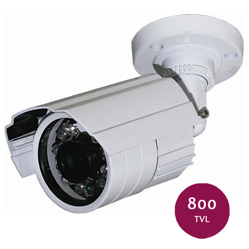 Outdoor Indoor Waterproof IR Bullet CCTV Camera CMOS 800TVL Security Video Surveillance Camera Onsale Discount(China (Mainland))