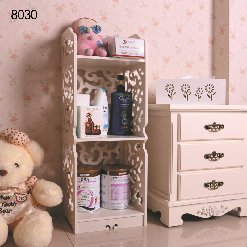 New Arrival 3-Drawer Book Shelf Shoes Rack Home Storage Living Bedroom Furniture 80*30*23CM(China (Mainland))