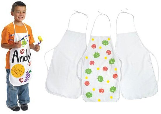 3PCS/LOT.Children's aprons,Paint unfinished canvas apron,Sleeveless apron,Kids aprons,38x59cm.Freeshipping.Wholesale.(China (Mainland))