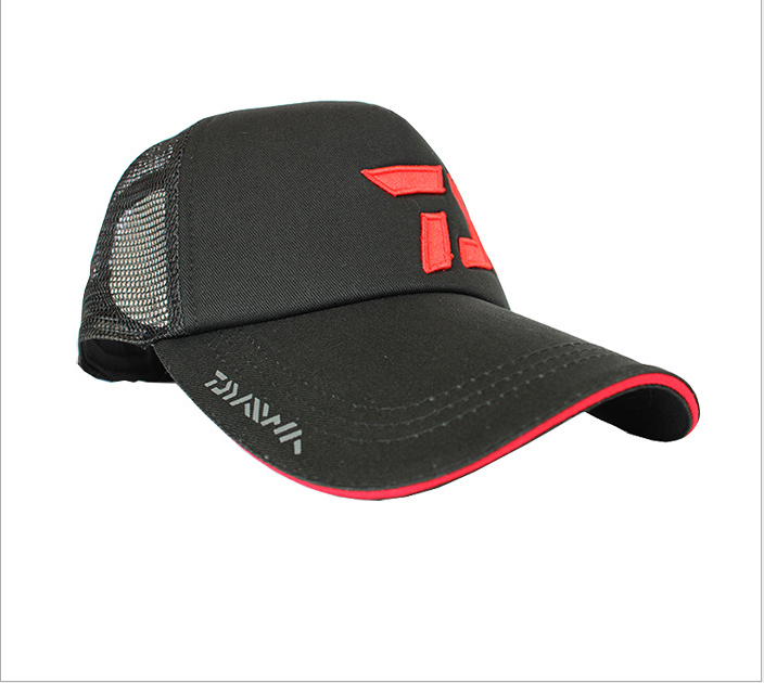 wholesale japanese daiwa cap mens cool black mesh hat