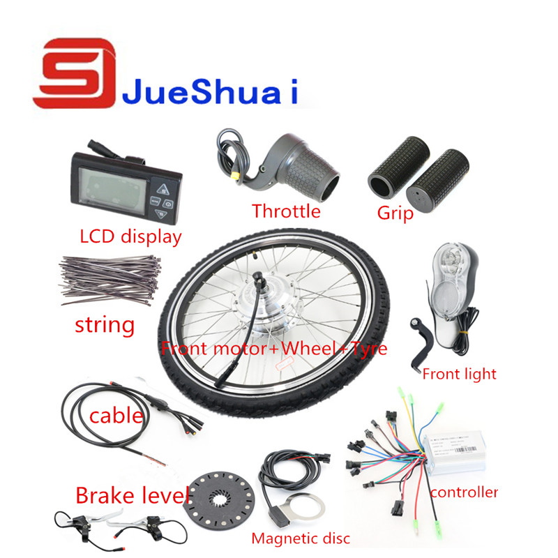 DIY 2014 New Brushless Electric Bicycle Kits With Motor Controller Electric Etc Bicycle Conversion Kit(China (Mainland))