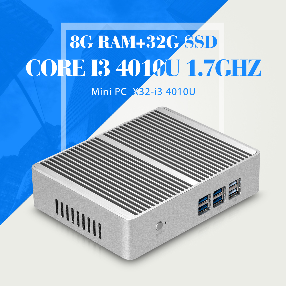 I5 4210Y I3 4010U 8G RAM 32G SSD WIFI Desktop Computer Thin Client Support Hd Video Smallest Computer Tablet Support VGA/HDMI(China (Mainland))