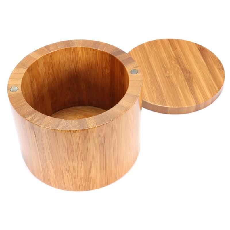 Pot couvercle en bois promotion achetez des pot couvercle - Pot a epice magnetique ...