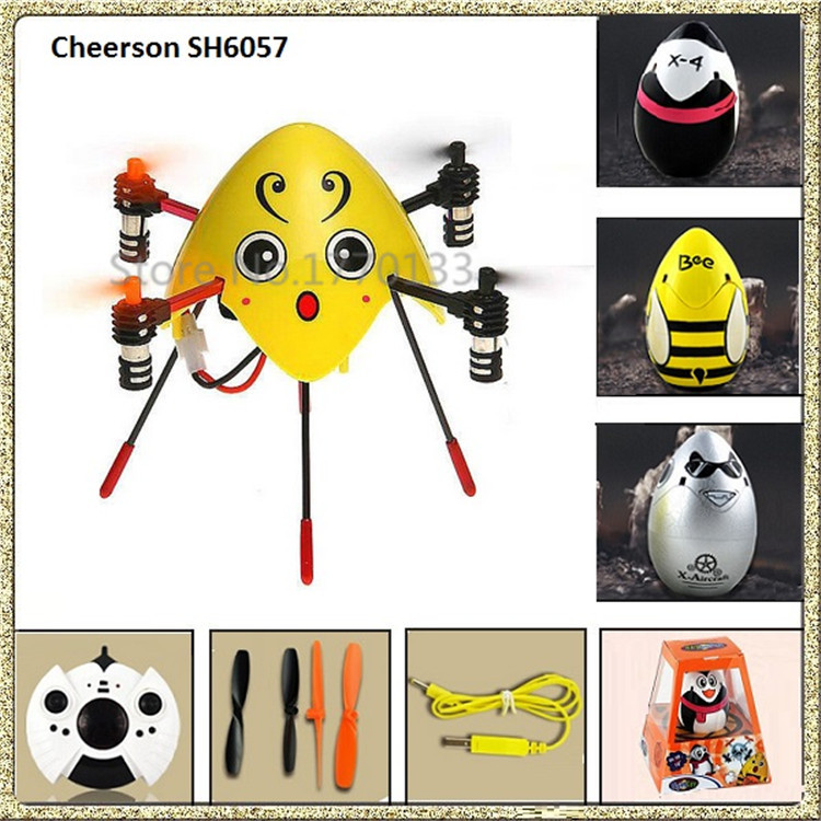 Cheerson SH 6057 Flying Egg 2.4G 4CH 6 Axis Flying Toys Mini Helicopter(China (Mainland))