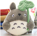 Plush doll 1pc 25cm cartoon anime lovely lotus leaf totoro little home decoration children stuffed toy