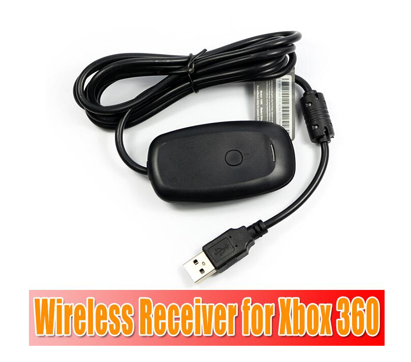 PC Wireless Controller Gaming USB Receiver Adapter For Microsoft XBOX 360 10pcs free DHLshipping(China (Mainland))