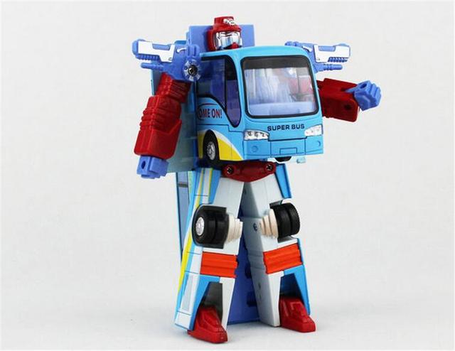 Новый Стиль Robocar Поли Робот Преобразования Автобус Автомобиль Игрушки Сплава Деформации Полиции Робот Автобус Игрушки Для Детей Дети Бесплатная Доставка
