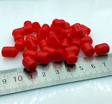 8mm protective cover Rubber Covers Dust Cap for connector or metal tubes 100pcs/lot(China (Mainland))