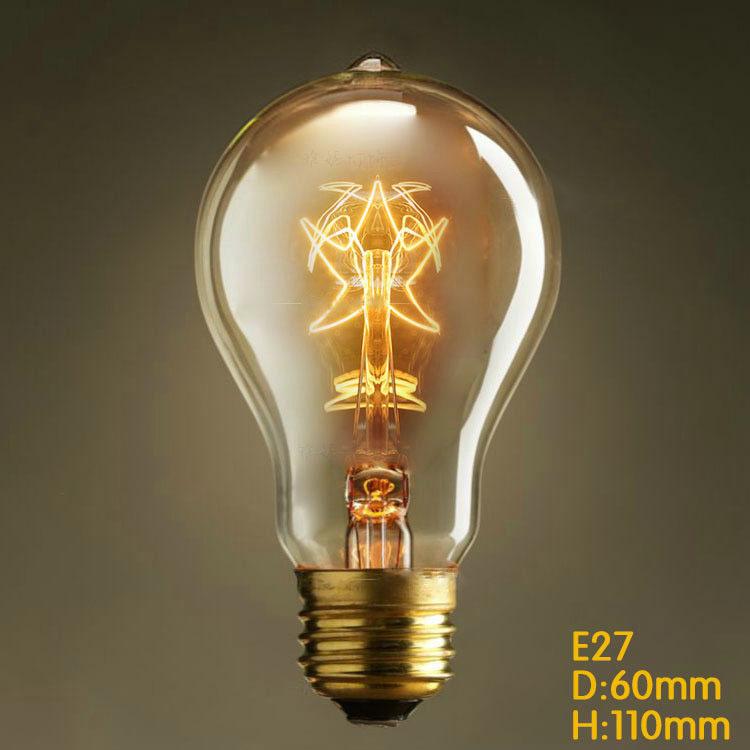 Wholesale Price,Vintage Retro Stars Edison Bulbs,E27 Incandescent Light Bulbs For Decoration Of Living Room,Bedroom,Study EB5(China (Mainland))