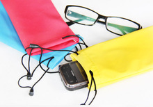 1000pcs waterproof leather plastic sunglasses pouch soft eyeglasses bag glasses case(China (Mainland))