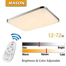 Indoor Lighting Kitchen Light 12-72W Luminaria Abajur Modern LED Wireless Ceiling light Living Room Light with Remote Controller(China (Mainland))