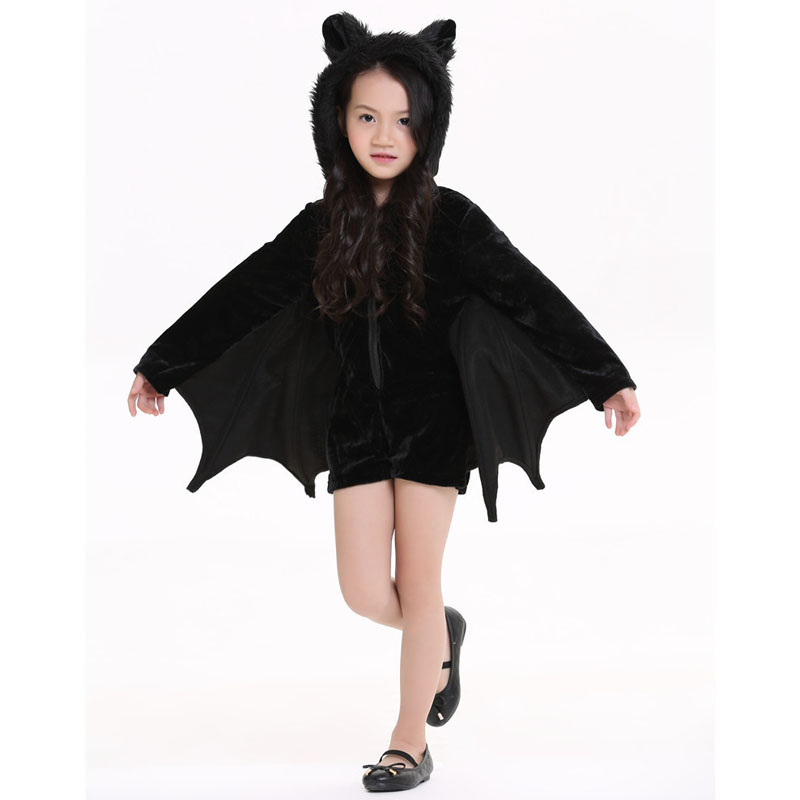 New-Child-Animal-Cosplay-Cute-Bat-Costume-Kids-Halloween-Costumes-For-Girls-Black-Zipper-Jumpsuit-Connect (3)
