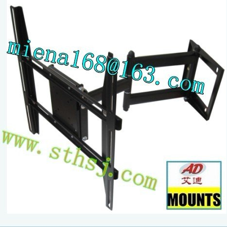 ad 6906l wall mount swing arm flat panel tv bracket desk. Black Bedroom Furniture Sets. Home Design Ideas