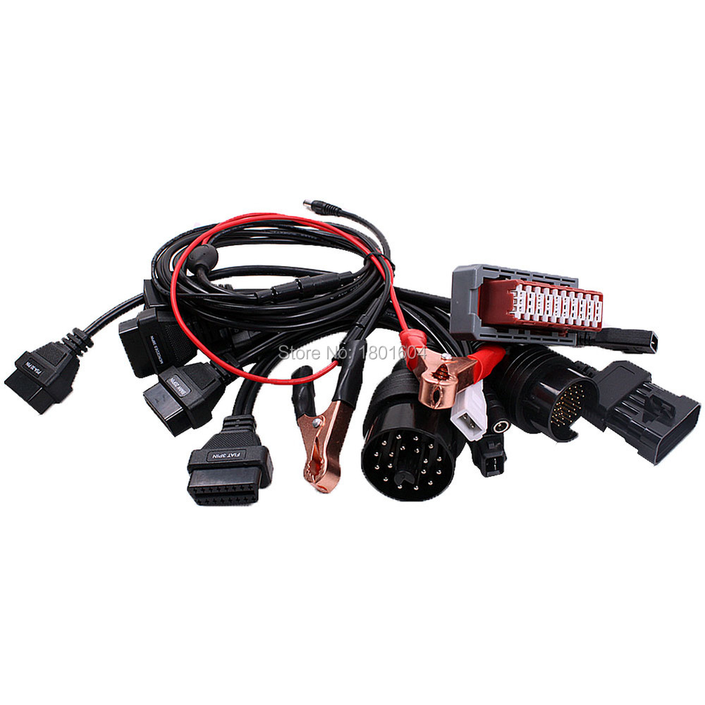 Car Diagnostic Interface OBD2 Car Cable for TCS CDP PRO Plus Tcs Scanner DS150e Car Cables Full Set 8 pieces with psa 30pin(China (Mainland))