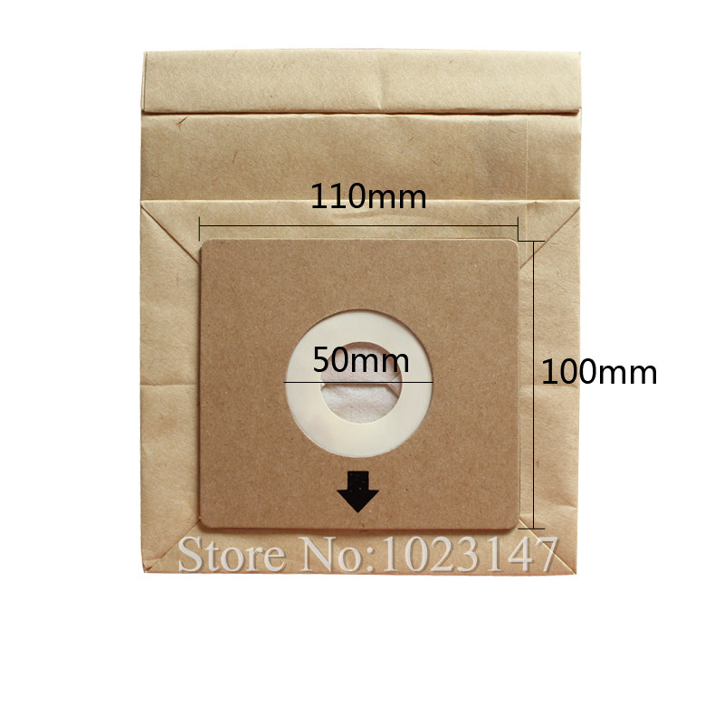 Universal Pallet Size About 110mm*100mm Caliber 5cm Vacuum Cleaner Dust Bags for Electrolux etc.!(China (Mainland))
