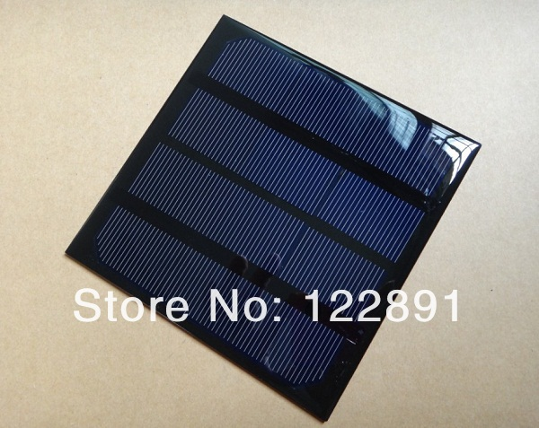 Wholesale! 3W 6V 520MA  Monocrstaline Solar Cell Solar Panel Solar Module DIY Solar Charger 14 *145*3mm 20pcs/lot Free shipping<br><br>Aliexpress