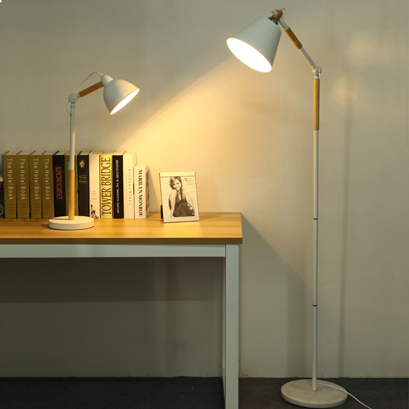 Online get cheap wooden standing lamps for Living room floor lamps cheap